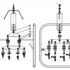 1200kV Single Suspension String Assembly for Octa Bundle Conductors