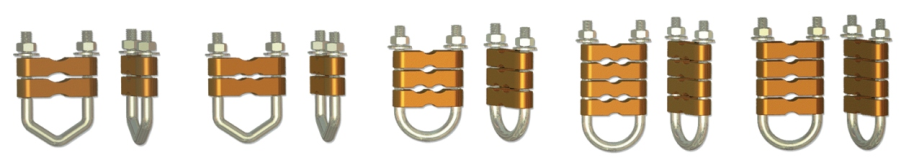 Copper Alloy U Type Clamp
